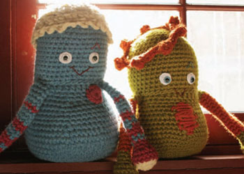 Free Amigurumi Tutorial #1: Doug and Gordo crochet toys