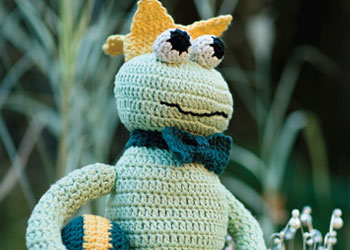 Free Amigurumi Tutorial #5: Frog Charming amigurumi pattern