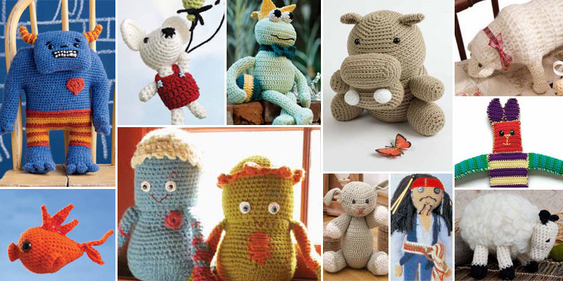Each of these free crochet amigurumi patterns has something to give, which will you pick to create?