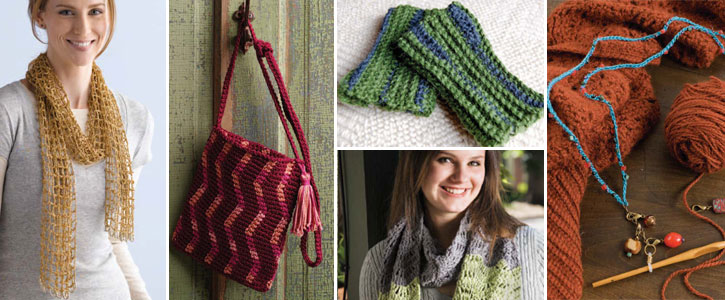 Learn to crochet with these 5 free beginner crochet patterns.