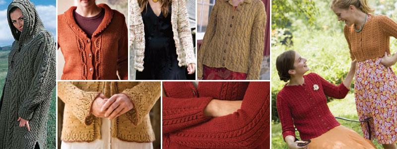 Find your perfect cardigan thanks to this free knitted cardigan patterns collection.