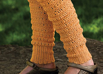 Free Leg Warmers Crochet Pattern: Peggy's Leg Warmers by Mary Beth Temple