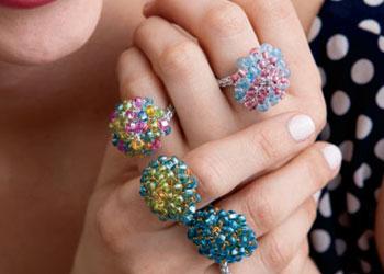 Free Crochet Ring Pattern: Mod Rings by Jodi Witt