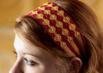 Free Crochet Headband Pattern: Marigold Headband by Sarah Read