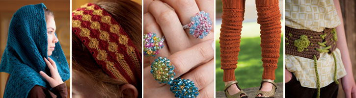 Get all five of these free crochet accessories patterns when you download this eBook today.
