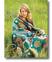 Crochet Blanket Patterns from the Craft Tree Crocheted Afghans eBook