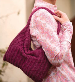 Crochet Purse Pattern: Slouchy Purse