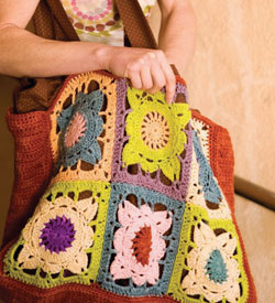 Crocheted Bag Pattern: Larger Than Life Bag