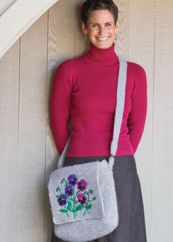 From a crochet handbag pattern to messenger bag, tote and crocheted purse, discover the fun variety of designs in this eBook.