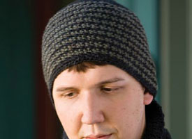 Crochet Beanie Pattern: Galen's Manly Hat