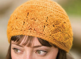 Crochet Beanie Pattern: Gloria's Happy Hat
