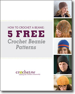 Don't forget to download your free crochet beanie patterns eBook!