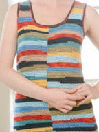 Get five patterns for exploring crochet changing colors methods using stripes in Interweave Crochet summer 2012.