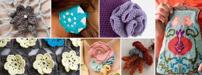You'll be crocheting flowers in no time with these 9 free patterns.