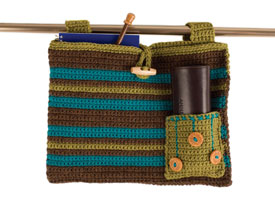 Crochet for Charity Patterns: Helping Hand Walker Bag