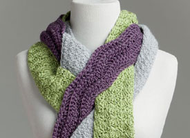 Crochet for Charity Patterns: Friendship Scarf