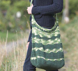 Quick Gift Ideas, Bag Pattern: Green Market Bag
