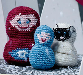 Unique Crochet Gift Patterns: Love Ewe Nesting Dolls