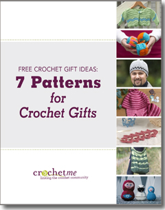 Download your 7 free patterns for crochet gifts.