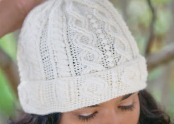 Crocheting Hats with Cables: Stone Path Hat