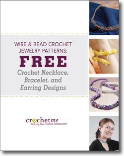 Don't forget to download your free crochet jewelry patterns eBook!
