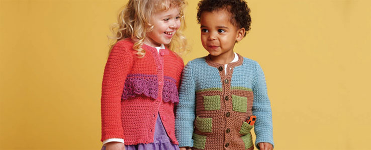 Crocheting for Kids: Ginger and Fred Sweaters