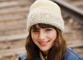 Crochet + Knitting Pattern #2: Snow Queen Hat