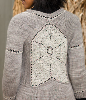 Learn how to combine knit and crochet patterns and elements with this free eBook.