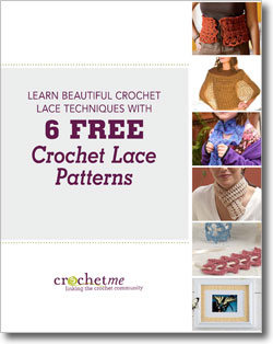 Download your free crochet lace pattern eBook.