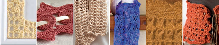 Learn how to crochet lace, including how to filet crochet and broomstick lace crochet.