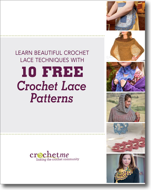 Learn Beautiful Crochet Lace Techniques with 5 Free Crochet Lace Patterns