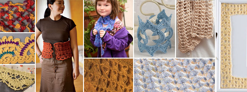 Learn how to crochet lace with each of these free patterns, including how to filet crochet and broomstick lace crochet.