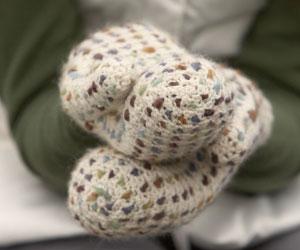 Thrummed Crochet Mitten Pattern: Thrummed Mittens by Marlaina Bird
