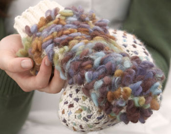 Learn how to crochet mittens, including this beautiful thrummed mitten pattern.