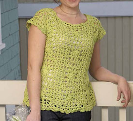 Top Featuring Simple Crochet Square Patterns: Ring Around the Posie