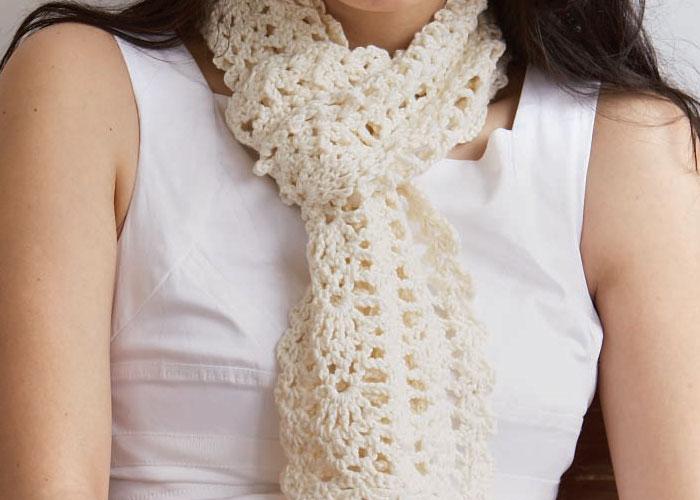 Crochet Scarf Patterns Lace Dancox For