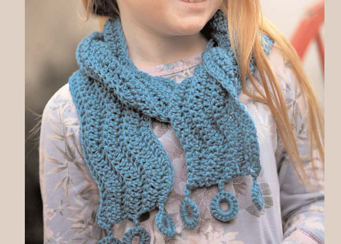 Crocheting a Scarf: Float Away by Kim Werker