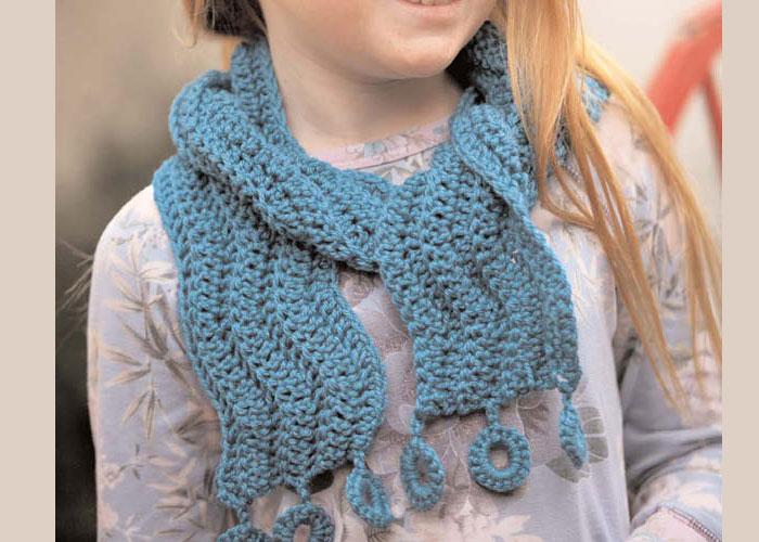 Crocheting a Scarf: Float Away by Kim Werker