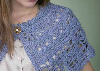 Lace Shawl Patterns to Crochet: Chanson En Crochet
