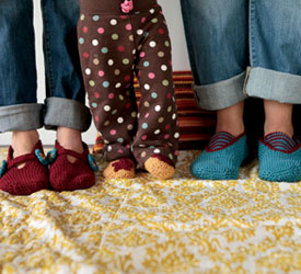 Crochet Slippers, Free Patterns: A Family of Slippers