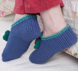 Pics Photos - Crochet Pattern Central Free Slipper Crochet Pattern ...