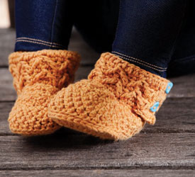 Crochet Slipper Pattern: Molly's Mukluks