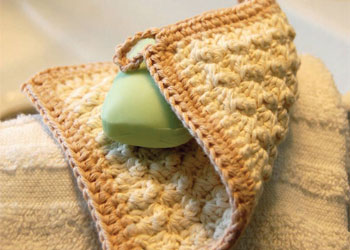 Crochet Patterns Easy: Organic Cotton Washcloth for Babies by Kim Werker