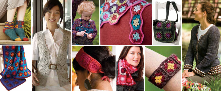 Get all 10 free granny square patterns.