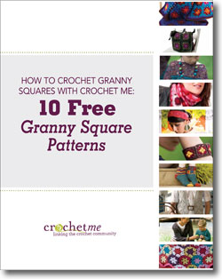 Don't forget to download your free patterns to learn how to crochet granny squares.