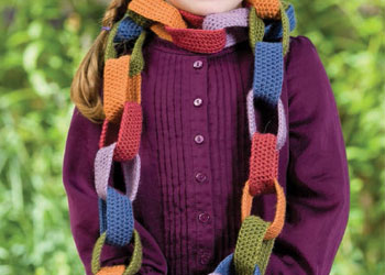Crochet Patterns for Christmas or Gifts: Piper's Chain Scarf by Shelby Allaho