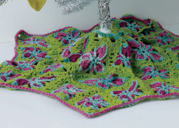 Free Tree Skirt Patterns: Granny Tree Skirt by Beth Nielsen