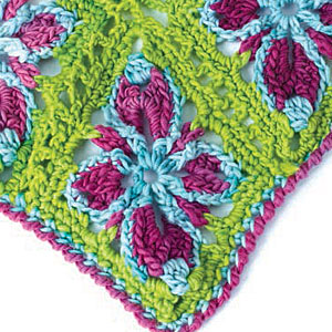 Discover all sorts of colorful ideas, such as this crochet Christmas tree skirt pattern.