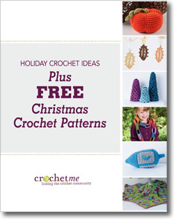Download your free crochet Christmas patterns and fun crochet holiday ideas!
