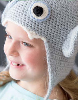 Make this hat using the magic loop crochet method.
